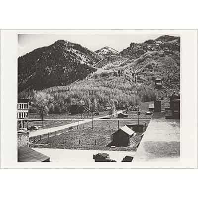 Little Nell Ski Slope in Aspen 1946 Greeting Card