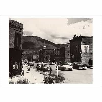 1947 Summer Rebirth in Aspen Greeting Card