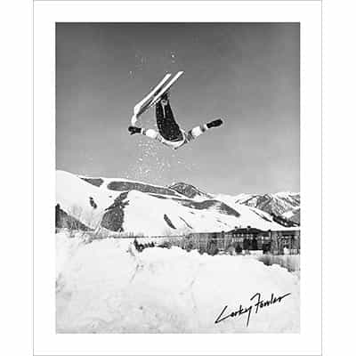 Corey Corkey Fowler Sun Valley B&W Photo (2 Sizes)