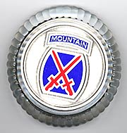 10th Mountain Division Paper Weight