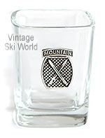 10th Mountain Division Shot Glass