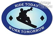 Ride Today Magnet