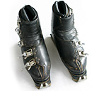 Koflach leather antique ski boots.