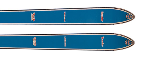 Vintage Fischer Skis for home decor